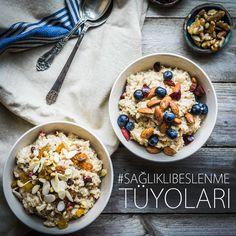 Yeni bir haftadan herkese GÜNAYDIN! Artık biliyorsunuz ki günün en önemli öğünü kahvaltı! İster mükellef isterse bir kasede olsun sağlıklı ve dengeli beslenmek için kahvaltıyı sakın atlamayın! #SağlıklıBeslenmeTüyoları