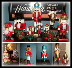 April's Homemaking: Our Christmas House 2013 - Nutcrackers