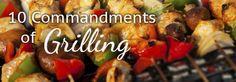 10 Commandments of Grilling / Pike Nurseries