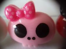 Pink/Purple Skull Dustproof Stopper Plug Headphone iPhone Samsung Sony LG ggrbld