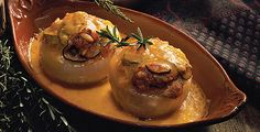 Stuffed Onion - Ratatouille Style