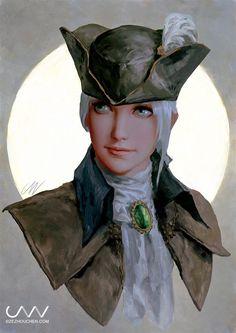 Explore best bloodborne art on DeviantArt Fantasy Warrior, Fantasy Girl, Grace O'malley, Character Art, Character Design, Character Ideas, Warhammer Fantasy Roleplay, Bloodborne Art, Pirate Art