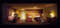 Garrett Michael Langston, Heidi James and Leon Russom in BRIGHT LIGHT CITY at LATC