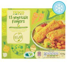 Tesco Meat Free Vegetable Fingers 15 Pack syns each. Vegan Supermarket, Supermarket Sweep, Slimming World Syns, Slimming World Recipes, Tesco Groceries, Weight Watchers Snacks, Organic Recipes, Ethnic Recipes, Shopping List Grocery