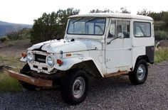 Toyota : Land Cruiser Fj40 All Original One Owner 1971 Toyota Fj40 Land Cruiser Unmolested Estate Barn Find - http://www.usabarnfinds.com/?p=1541