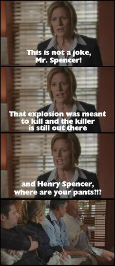 Psych the only show where this could happen. Now that I think about it Nick Fury telling the avengers and Tony isn't wearing pants. Psych Memes, Psych Quotes, Psych Tv, Movie Quotes, Shawn And Gus, Shawn Spencer, Spencer Family, Real Detective, I Know You Know