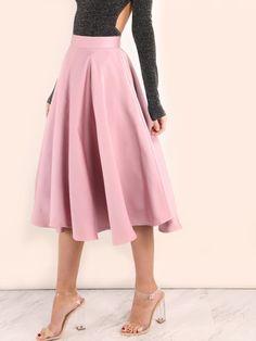 falda de graduacion-(Sheinside)