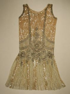 Real honest-to-goodness 1926 flapper dress