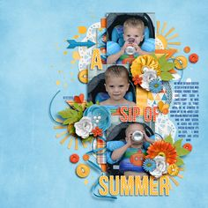 Sunny Side Of Life-Kit by Meghan Mullens #digitalscrapbooking