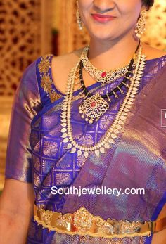 Black Dori Necklace and Mango Mala