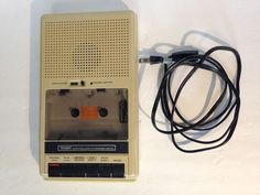 Tandy Vintage Cassette Tape Player Recorder CCR-83 Model 26-1384 Radio Shack #Tandy