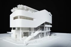Concept Architecture, Modern Architecture, Architecture Models, Modern Family House, Co Housing, Arch Model, Futuristic City, House Blueprints, Sustainable Design