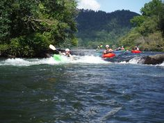 Step up to the next level of paddling on Tennessee's Ocoee River or Georgia's Cartecay River