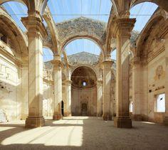 Huge Skylight Church, Tarragona, Spain