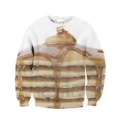 pancakes sweatshirt from Beloved Shirts