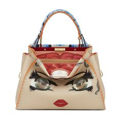 The special Fendi Peekaboo bag personalized by Anna Dello Russo for the Peekaboo Charity Auction in Japan