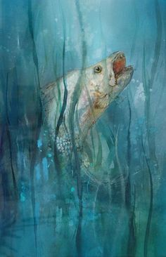 10 Best Redfish Images Art Images Goldfish Red Fish Drawings