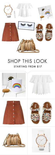 """""""Romântica"""" by jadyeleng on Polyvore featuring Madewell, Theory, TOMS, Diane Von Furstenberg, ASOS Curve and Huda Beauty"""