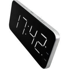 Vækkeur SoundMaster UR8900SI UR8900SI Sort, Sølv - Vækkeur - Digital - Hus & Have - Conrad Elektronik