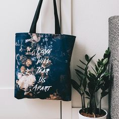 "'Tis The Season...?  #LoveHurts || Click the link in our Instagram bio @Society6 to browse featured products.  s6.co/featured || ""Love will tear us apart"" by Hans Eiskonen @eiskone 