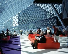 Seattle Central Library / OMA + LMN | ArchDaily