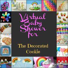 Bird On A Cake: Rainbow Petal Cake {Virtual Baby Shower!}