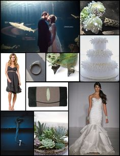 Shark wedding ideas. I'm dreaming big guys.