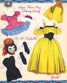 Sharon's Sunlit Memories: Merrill Ballerina Paper Dolls