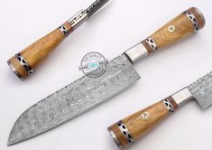 "10.50"" Custom Made Beautiful Damascus steel chef kitchen Knife (AA-0344-1)"