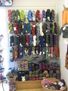 If I had my own yarn store....