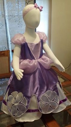 Sofia The First Dress Princess Costume by TitasBoutique on Etsy, $80.00