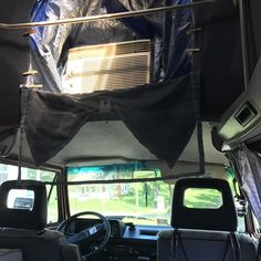 Working in the ac today. It's giving me bad ideas... #vanagon #vanagon #awesomelyweird #dadventure #momandadventure
