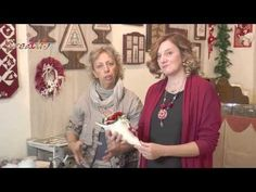 Video #CreattivaChannel - Decorazione di Natale porta dono e stella Natalizia - YouTube