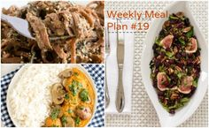 Weekly Meal Plan #19