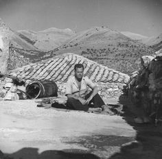 """Patrick Leigh Fermor: """"With what ease populations moved about in ancient Greek lands, in the world conquered and Hellenized by Alexander, the wide elbow room of Rome and the Byzantine Empire! Thru Hiking, Hiking Trails, Patrick Leigh Fermor, Greece History, Family Affair, Travelogue, Ancient Greek, World War Ii, Mani"""