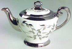 Silver lusterware