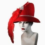 Have A Feather Hat For Christmas Beautiful!!