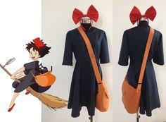 Kiki Cosplay Costume Kiki's Delivery Service (Customize 5-8 days)