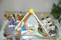 Nativity cookies.