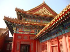 The Palace of Earthly Tranquility in the Forbidden City Beijing China [4000 3000]