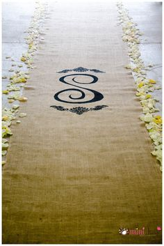 find this pin and more on maggies wedding burlap aisle runner