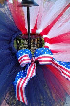 Patriotic Tutu Red white and blue  Gorgeous for Photos by TutuLand, $25.00