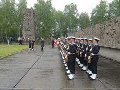 The ceremony commemorating the 69th anniversary of the liberation the concentration camp Stutthof.