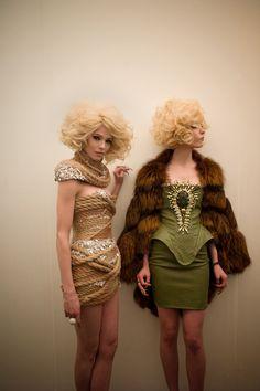 Rope dress at The Blonds  Photo by Amanda Hakan.