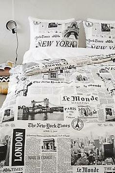 Newspaper dekbedovertrek 2 pers.? Bestel nu bij wehkamp.nl