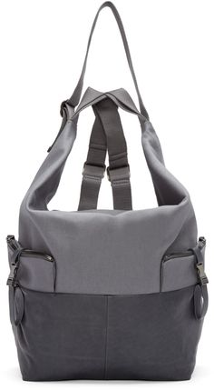 Côte & Ciel Grey Medium Ganges Alias Backpack