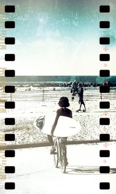 Venice Beach - Surfer - iPhoneography