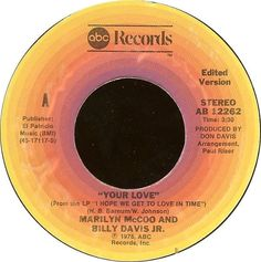 Marilyn McCoo And Billy Davis Jr Your Love