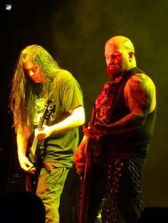 Pat O'Brien, Cannibal Corpse & Kerry King, SLAYER!  \m/