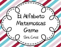 El Alfabeto Matamoscas Game